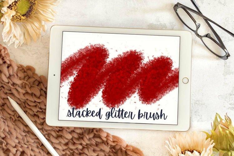 Splatter - Procreate Stacked Glitter Effect Brush