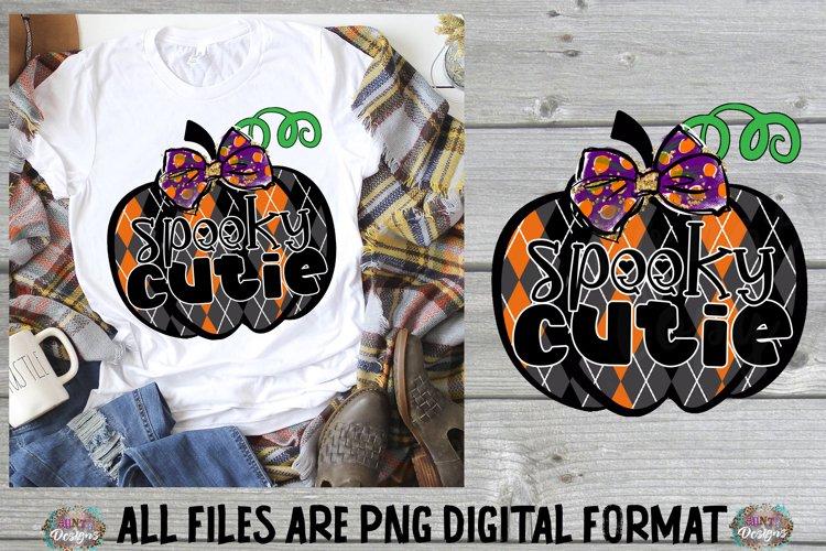 Halloween Spooky Cutie Skull Sublimation Design