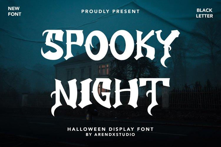 Spooky Night - Halloween Display example image 1