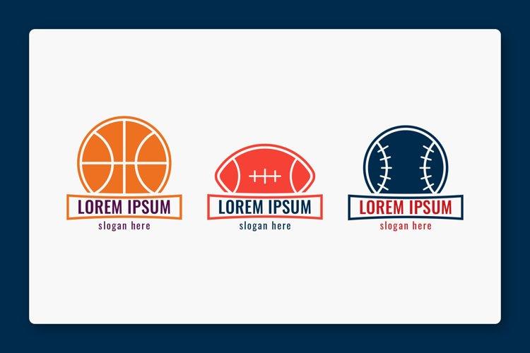 Sports Minimalist Logo Illustrations