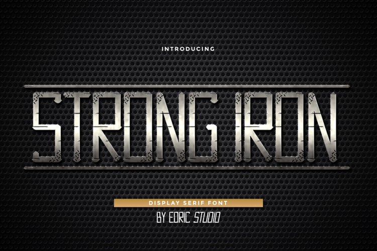 Strong Iron example image 1