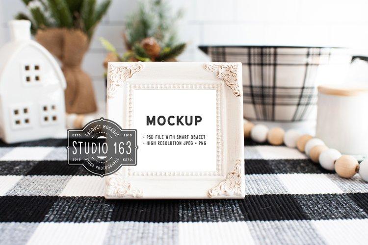 Mini Frame Mockup, Place Card Mockup, PSD JPG