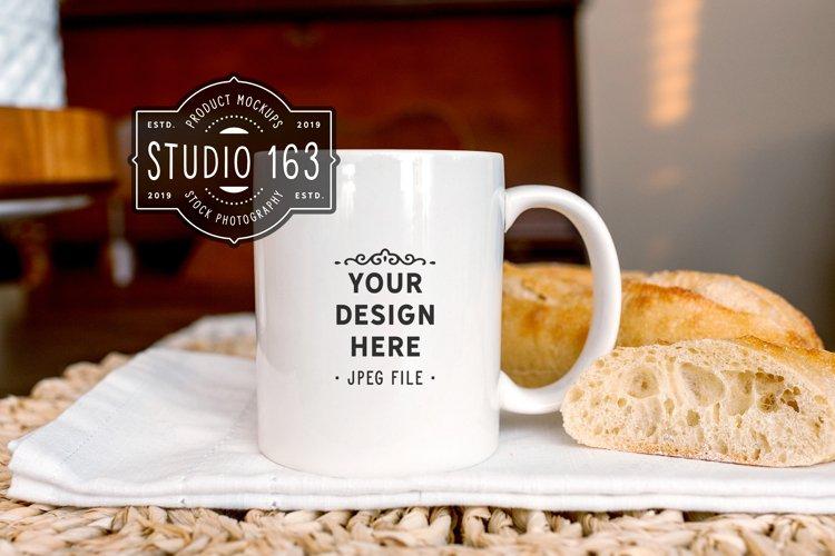 11 oz White Mug Mockup, Blank Mug, Coffee Cup Mockup, JPEG