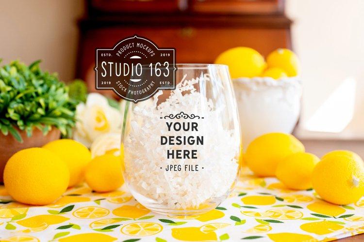 Wine Glass Mockup, Wine Glass Tumbler, Stock Photo, JPEG