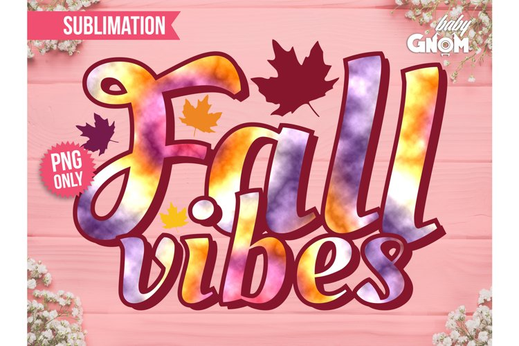 Fall Vibes SUB, Fall Vibes Vintage PNG Print File for Sub