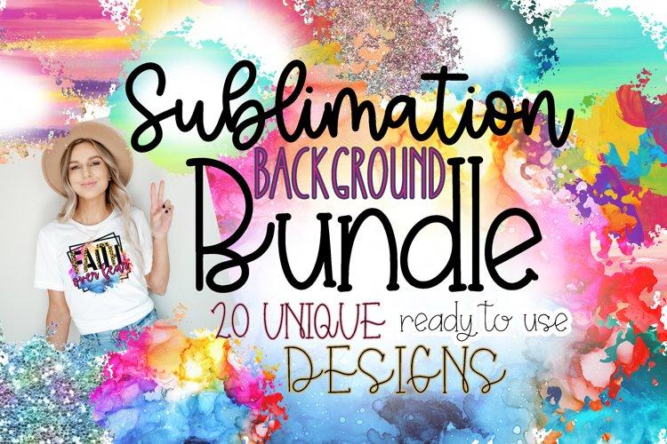 Sublimation Background Design Bundle