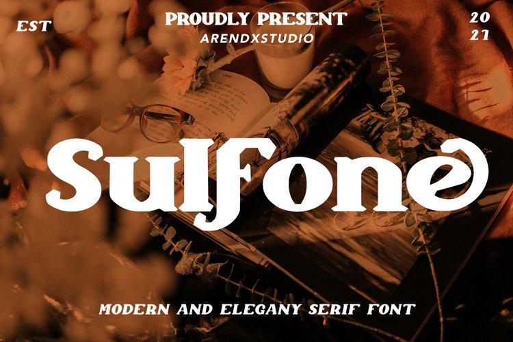 Sulfone - Modern Elegant & Serif example image 1