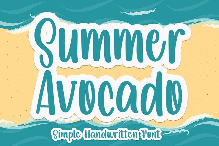 Summer Avocado example image 1