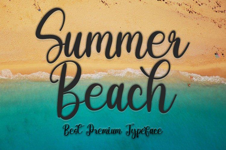 Summer Beach example image 1