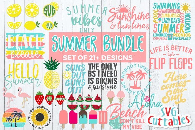 Summer SVG Bundle   Shirt Designs   SVG Cut Files