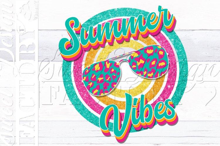 Summer vibes png, vintage summer sublimation design