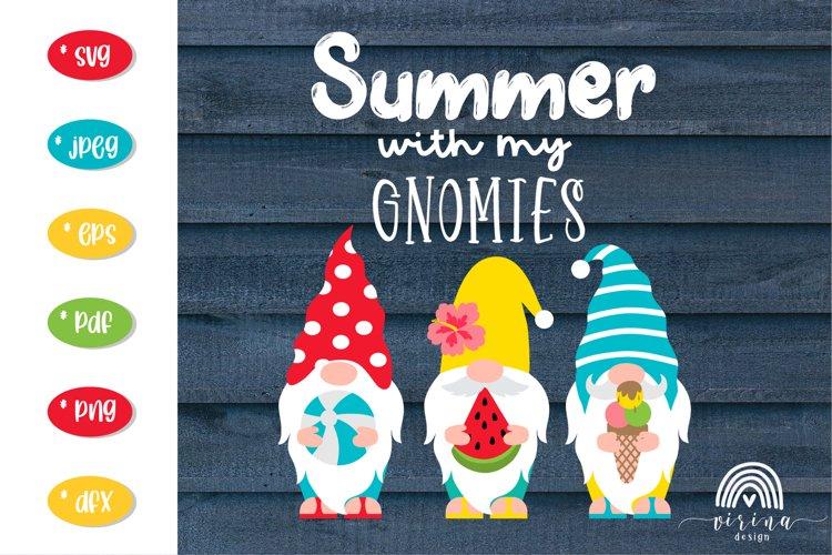 Summer Gnomes SVG Bundle. Summer gnome svg. Summer svg