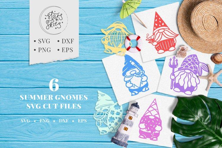 Summer Gnomes SVG Cut-Files