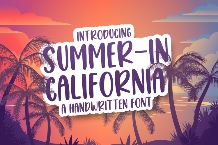 Summer in California example image 1