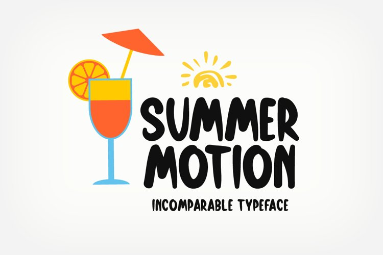 Summer Motion example image 1