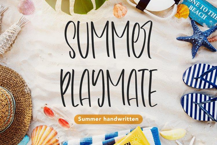 Summer Playmate - Summer Handwritten Font example image 1