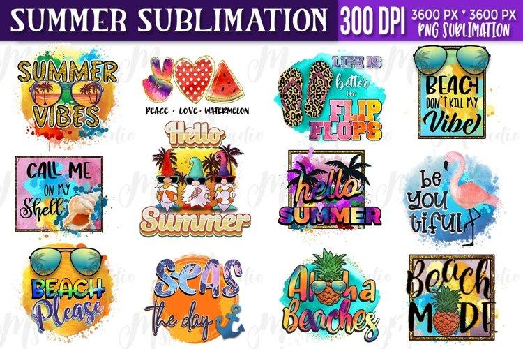 Summer sublimation Bundle example image 1
