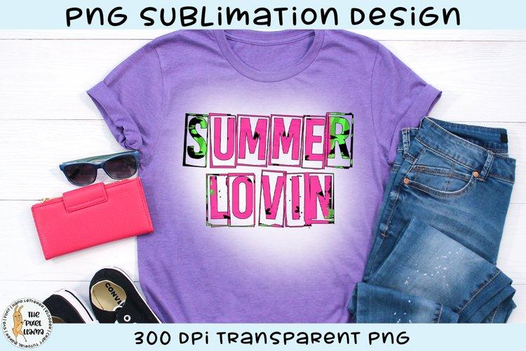 Summer Lovin Melon Print Sublimation Design