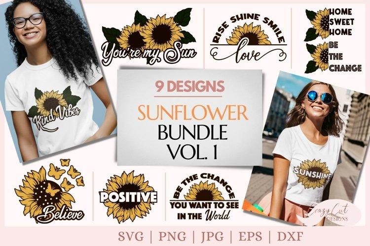 Sunflower svg bundle, sunflower quote svg