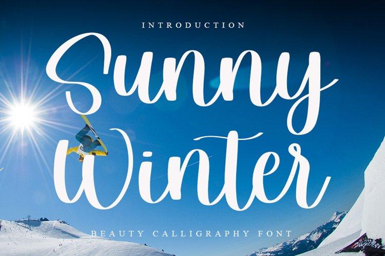 Sunny Winter example image 1