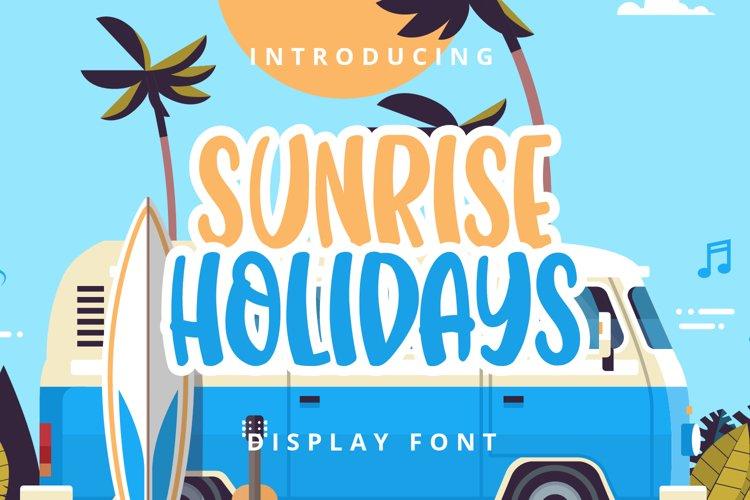 Sunrice Holidays example image 1