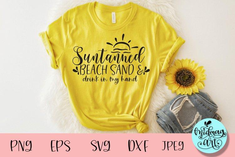 Suntanned beach sand svg, summer svg