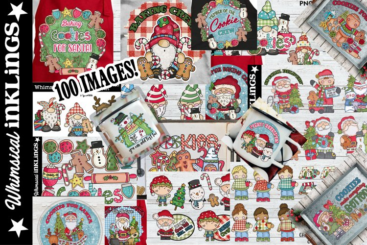 Super Duper Christmas Sublimation Clipart Bundle