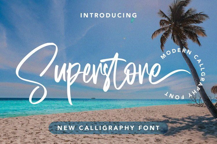 Superstore - New Calligraphy Font example image 1