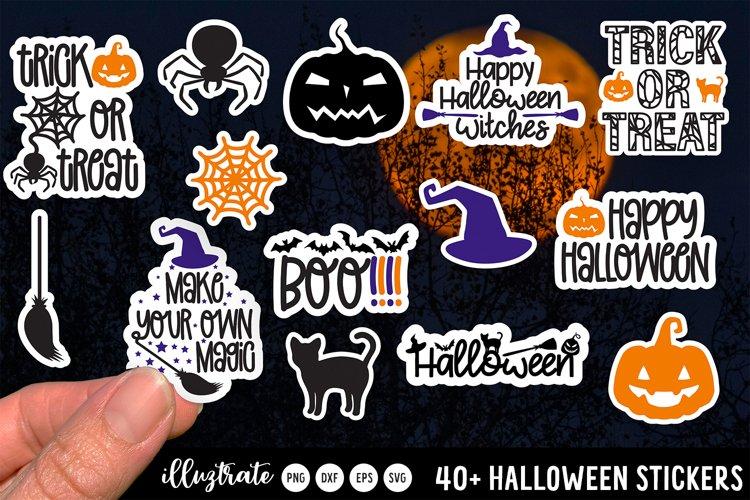 SVG Halloween Stickers | PNG Halloween Stickers