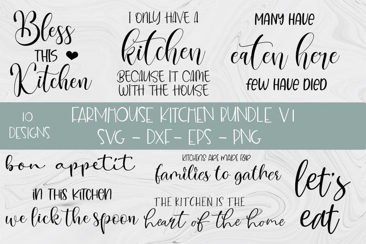 Farmhouse Kitchen SVG Bundle V1