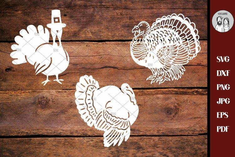 Fall SVG   Turkey SVG DXF Png eps   Turkey Bundle   thanksgi