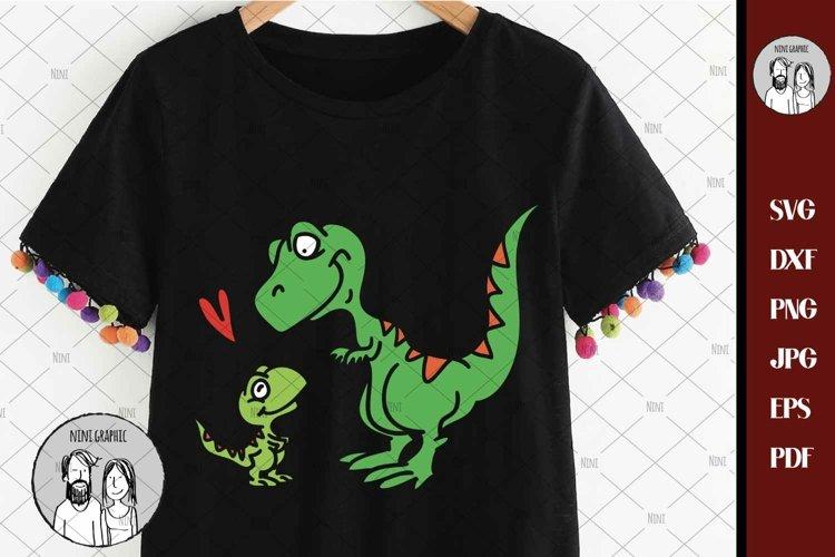 Dinosaur svg, Mamasaurus rex svg, T-rex mom svg, T-rex svg,