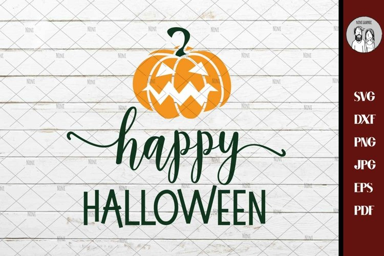 Fall svg, Happy Halloween svg, Halloween Pumpkin svg, Fall