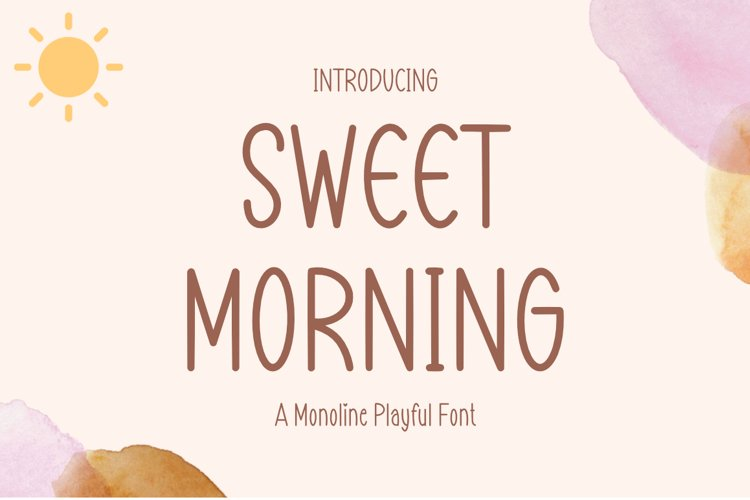 Sweet Morning example image 1