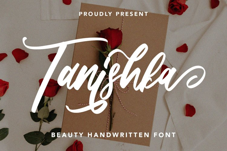 Tanishka - Beauty Handwritten Font example image 1