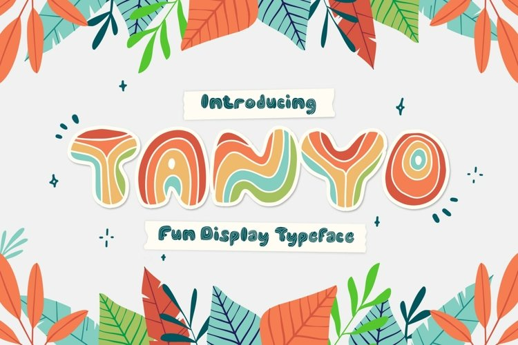 Tanyo Typeface example image 1