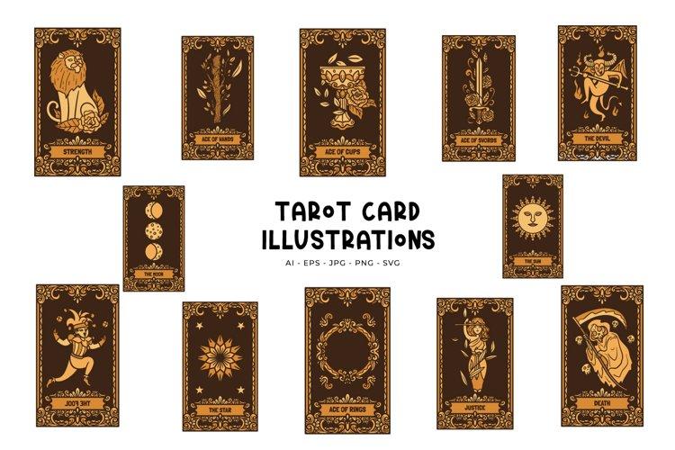 Tarot Card Illustrations