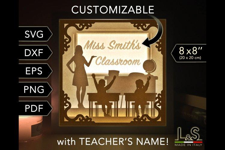 Teacher's classroom light box