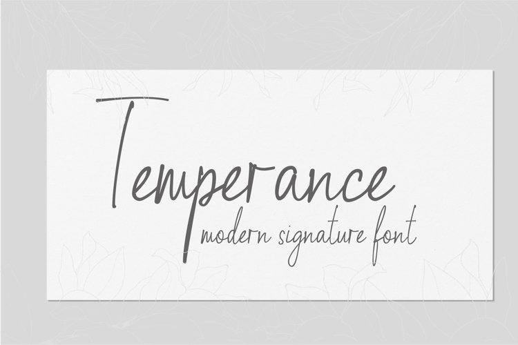 Temperance example image 1