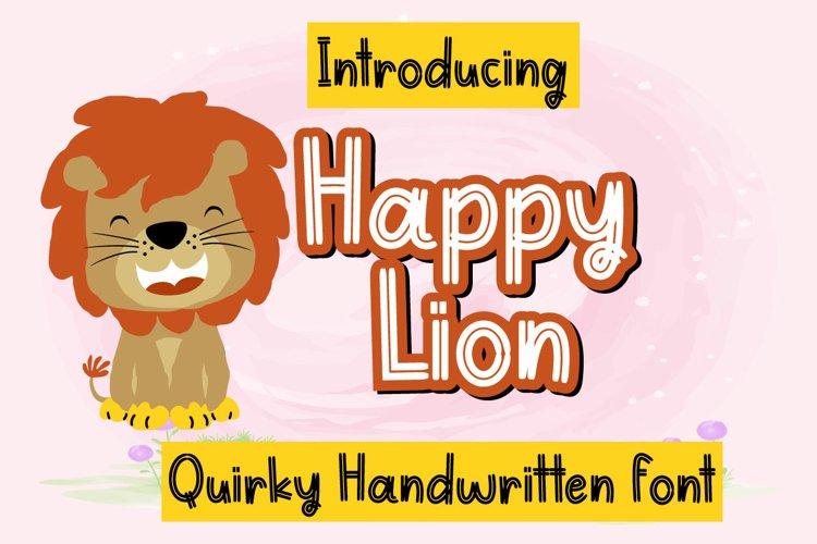 Happy Lion example image 1