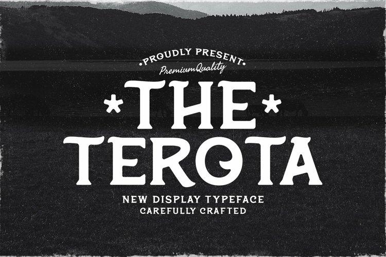 Web Font Terota example image 1