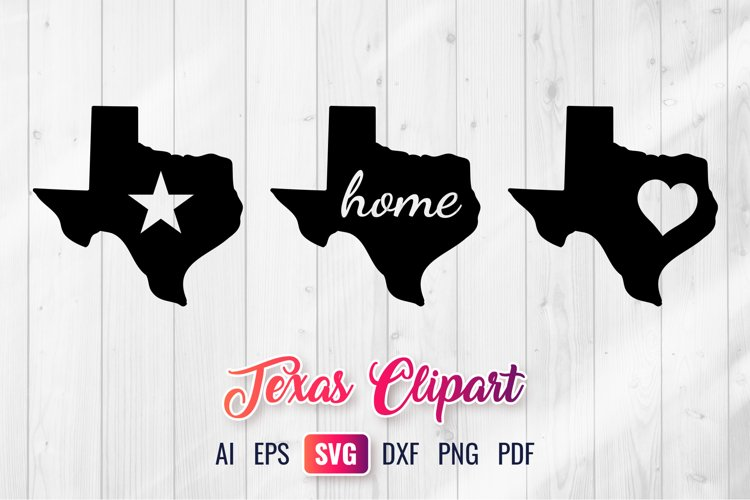 Texas SVG - Texas State Clipart
