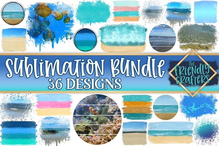 Beach Sublimation Bundle - 36 Designs