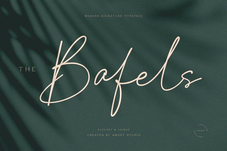 The Bafels - Modern Signature example image 1