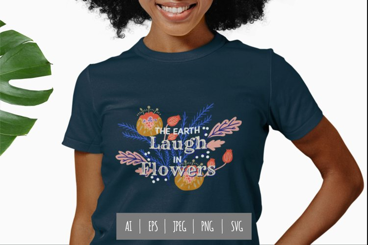 The Earth Laugh in Flowers PNG example image 1