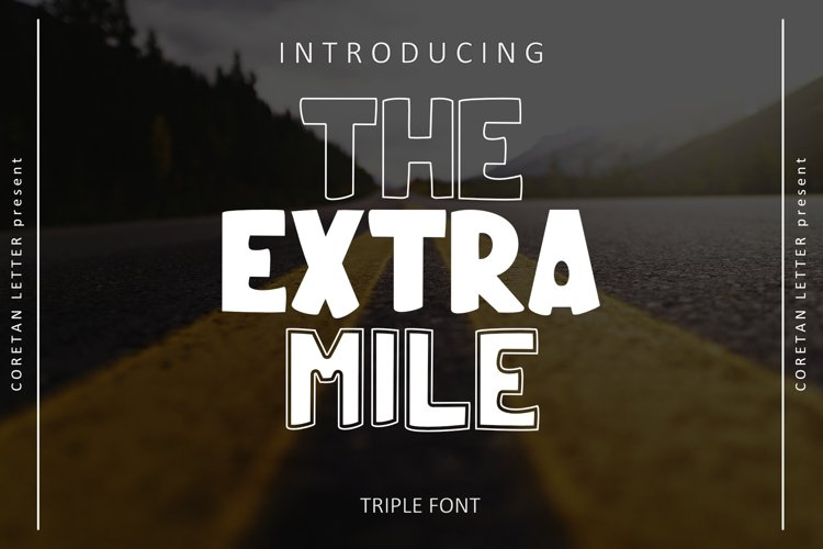 THE EXTRA MILE example image 1