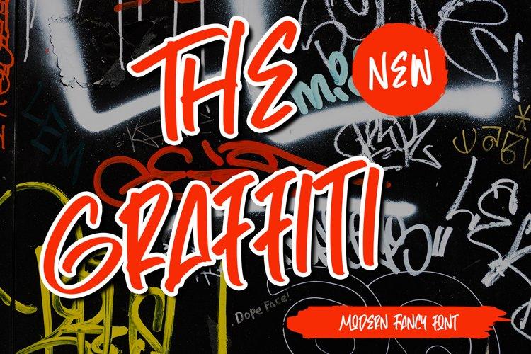 TheGraffiti - Modern Fancy Font example image 1