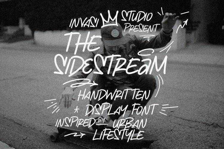 The Sidestream - Handwritten Display example image 1