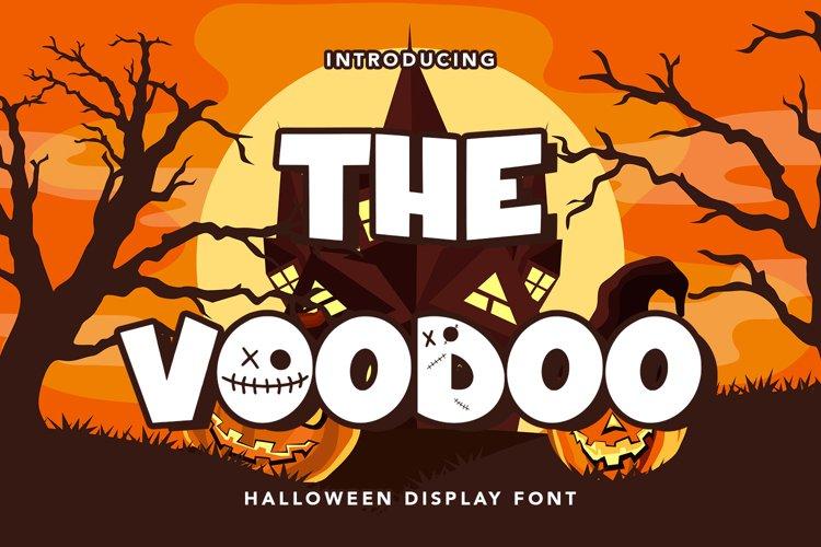 The Voodoo - Halloween Display Font example image 1