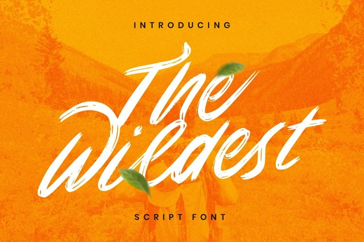 Web Font The Wildest example image 1
